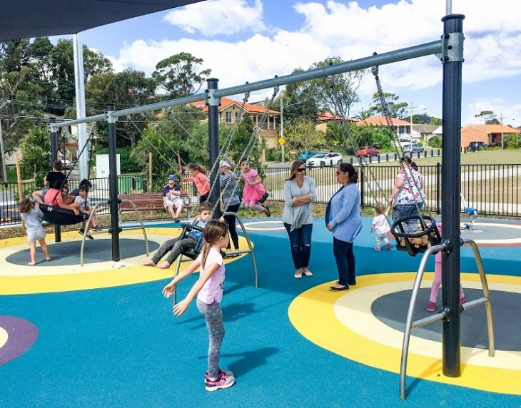 NSW – Chifley Reserve Inclusive Playground