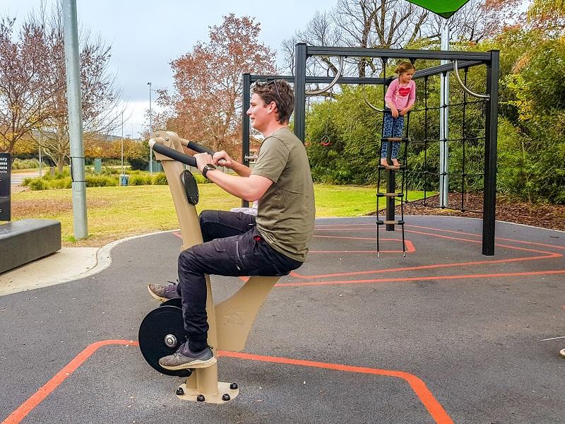 NSW –  East Albury Outdoor Fitness Zones