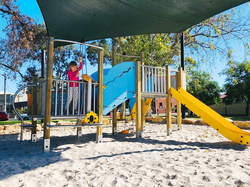 VIC – Edwards Park Sand Play