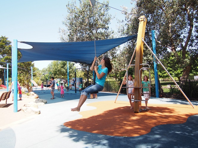 NSW – Flying Fox Park playground