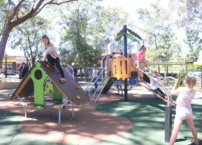 NSW – Frank Beckman Reserve playground