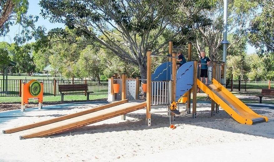 QLD – Grahame Stewart Park Inclusive Playground