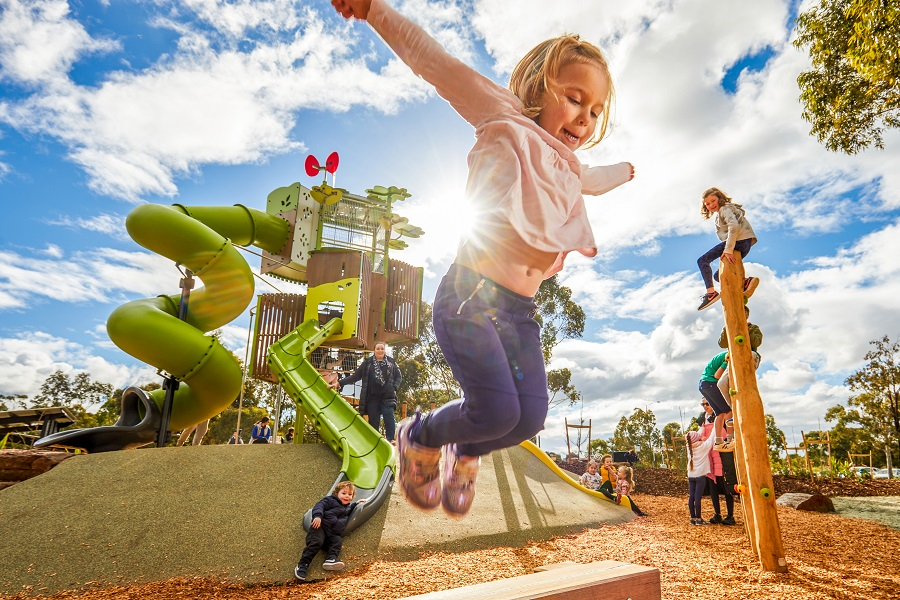 VIC – Green Gully Reserve Nature Playspace