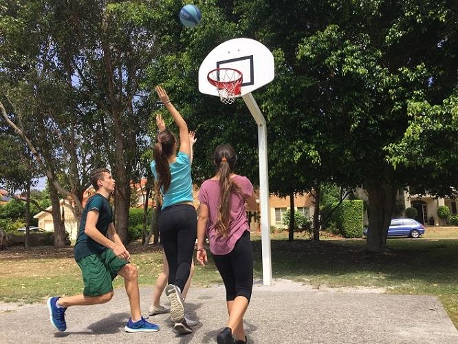 NSW – Whitney St Reserve Basketball Goal