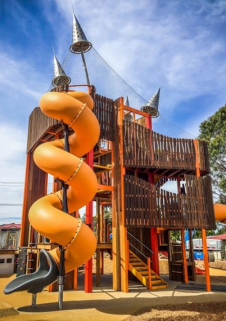 VIC – Community Bank Adventure Playground, Wallan