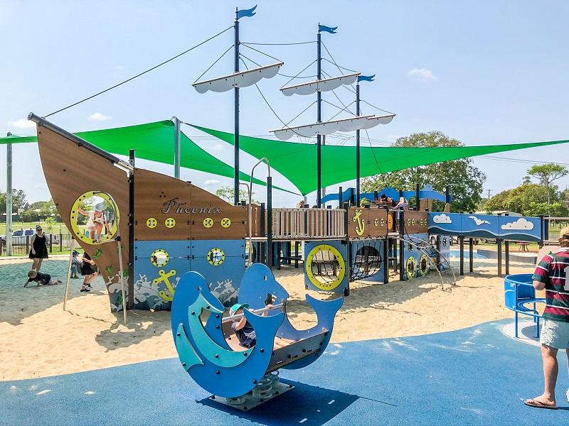 NSW – Jacaranda Park Inclusive Playspace