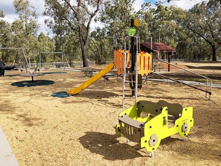 NSW – Jeffries Park Abermain Playground