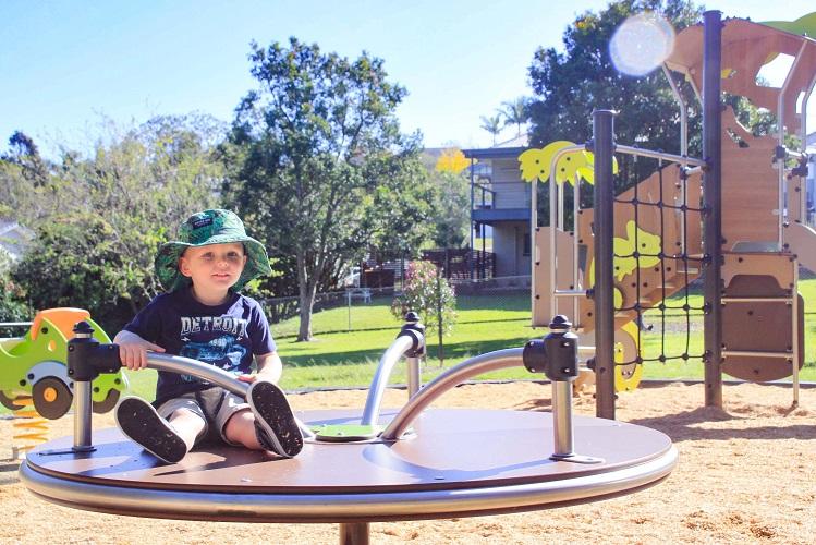 QLD – Joe Foster Park themed playground, Brisbane