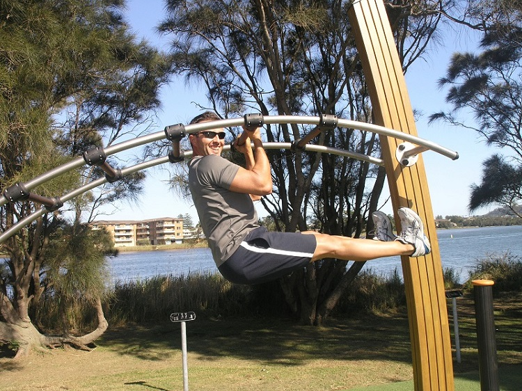 NSW – Lakeside Park Fitness Trail