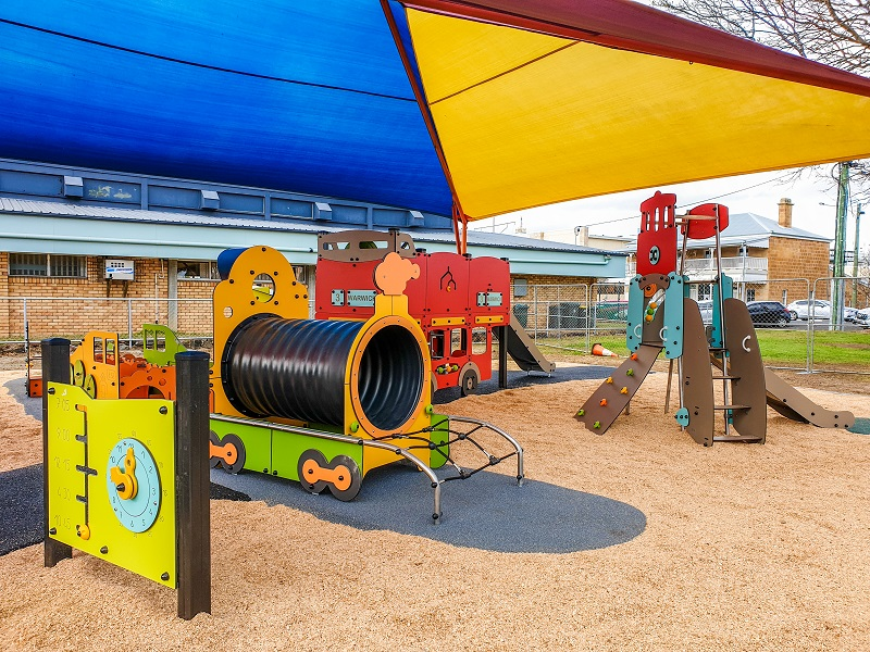 QLD – Leslie Park Junior Playground