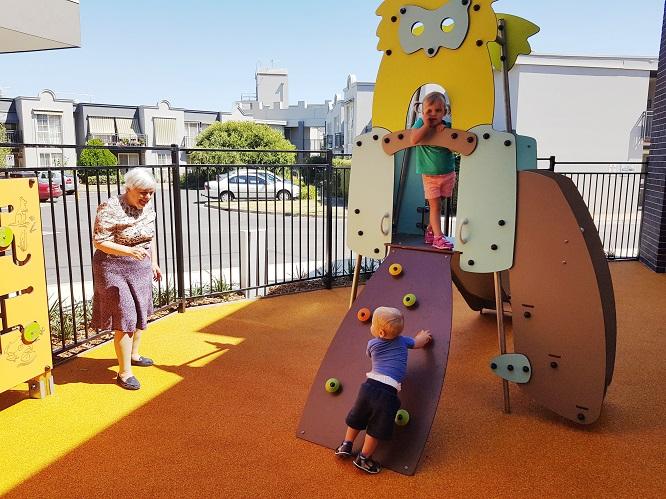 VIC – Lexington Gardens Aged Care Playground