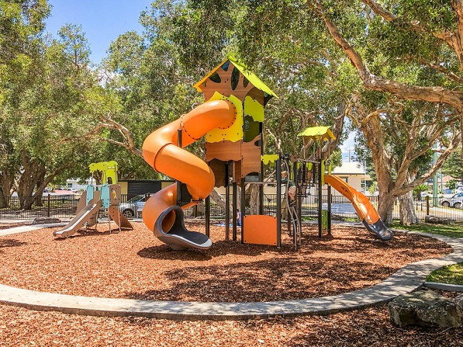 NSW – Lions Park at Yamba Adventure Playground