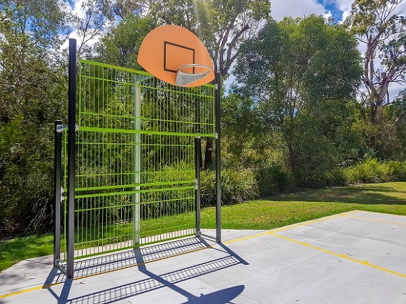 QLD – Liriope Place Park Sport Wall