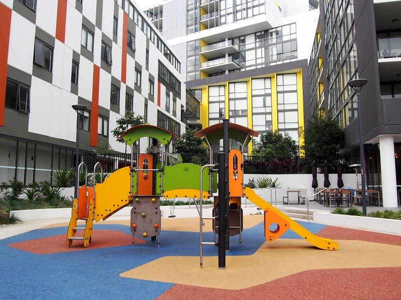 NSW – Mascot Square Playground