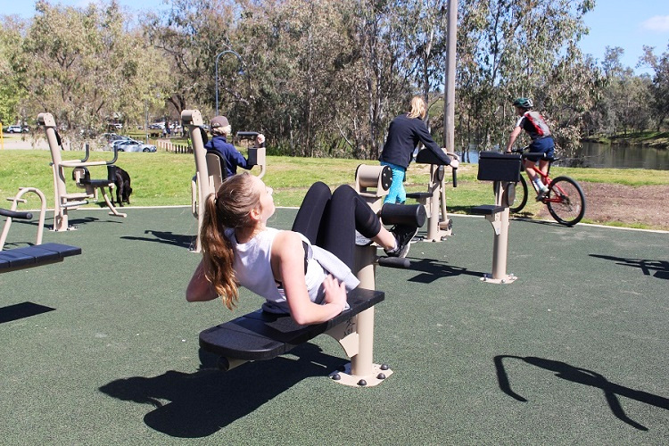NSW – Noreuil Park Outdoor Fitness Zone