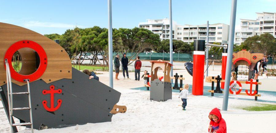 WA – North Coogee Bespoke Playground
