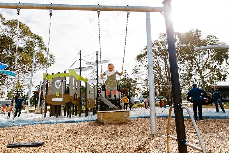 WA – Sykes Foreshore Playspace