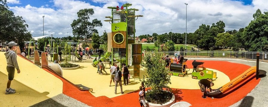 NSW – Ollie Webb Reserve Inclusive Playground