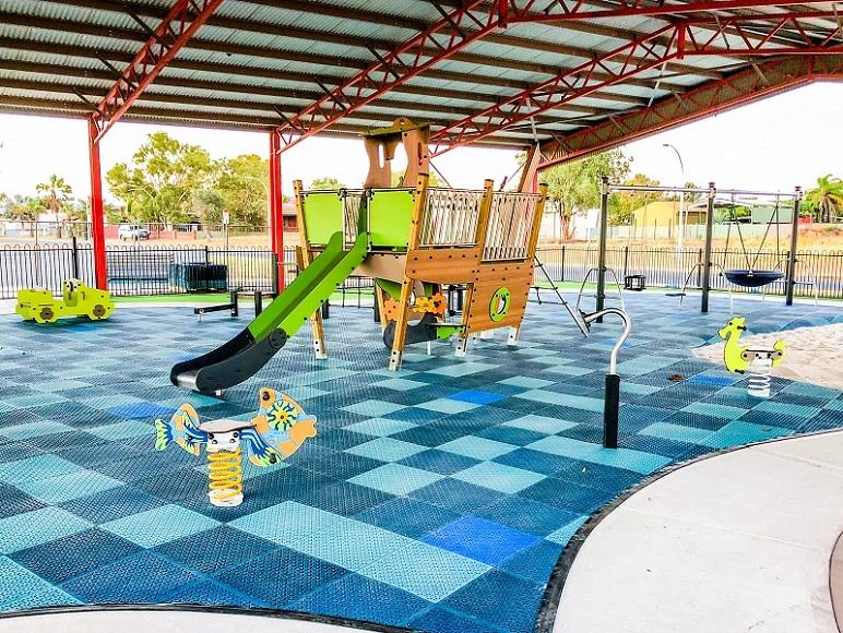 WA – Thalanyji Oval Playground, Onslow