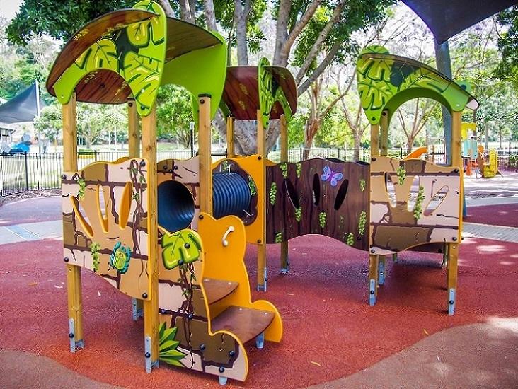 QLD – Rocks Riverside Park Junior Playground