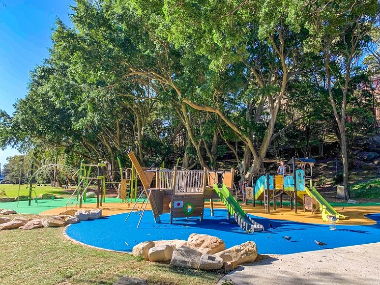 NSW – Parsley Bay Reserve Inclusive Playground