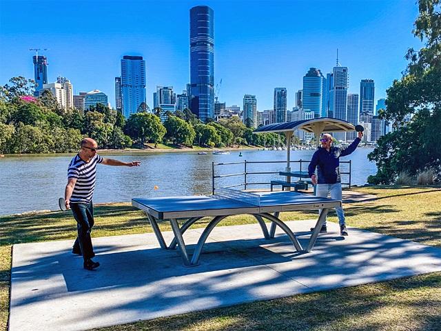 QLD – Kangaroo Point Cliffs Park, Brisbane