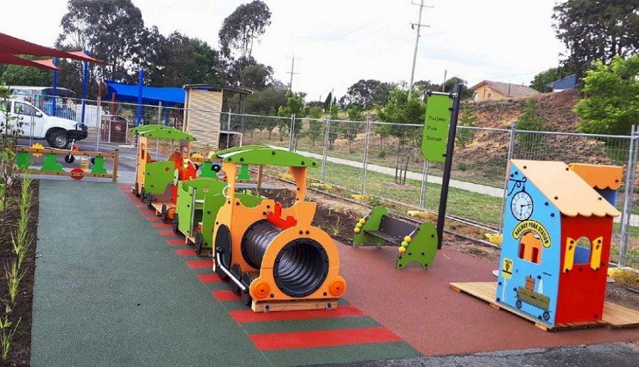 NSW – Railway Park Playground