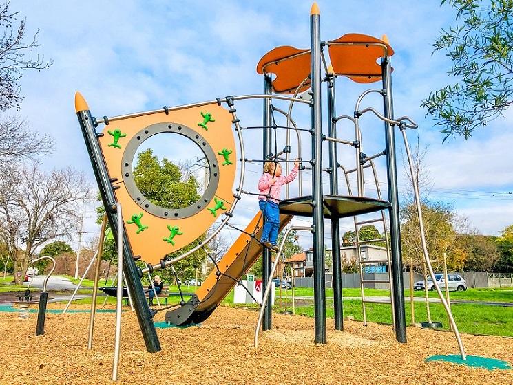 VIC – Rialto Reserve Playground