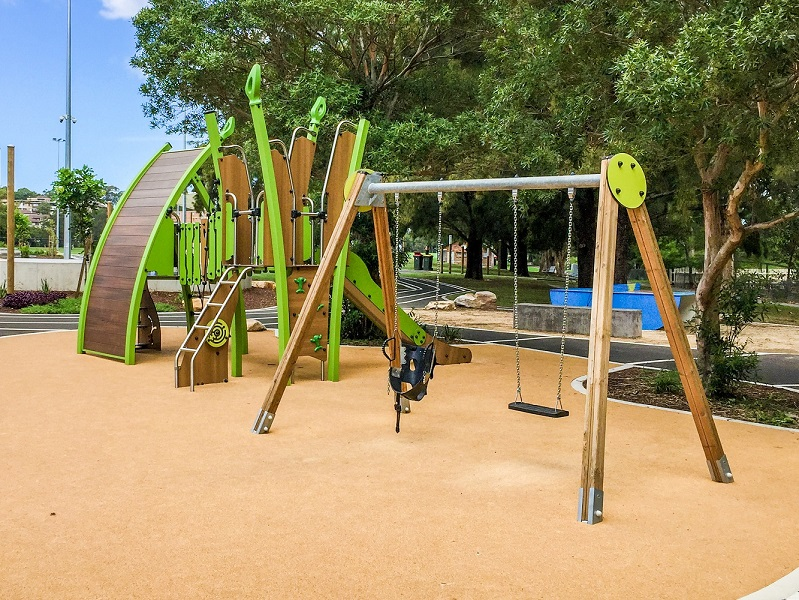 NSW – Ryde Outdoor Youth Space – playground