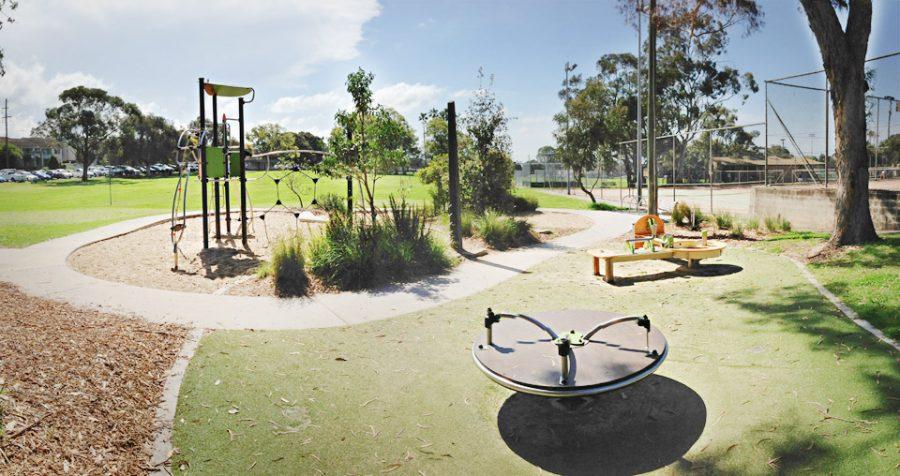 NSW – Seymour Shaw Park playground