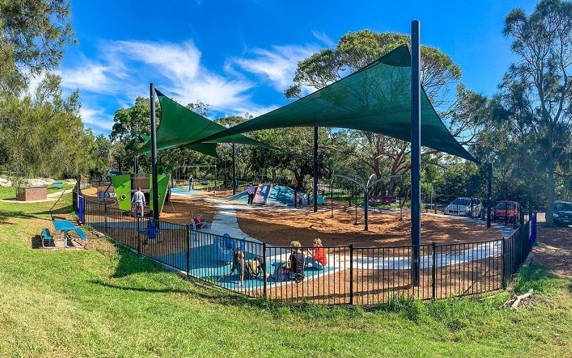 NSW – Tania Park Inclusive Playground