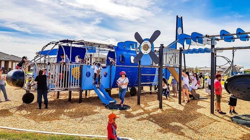 VIC – Aeroplane Park, Tarneit – Inclusive and Accessible Cargo Plane