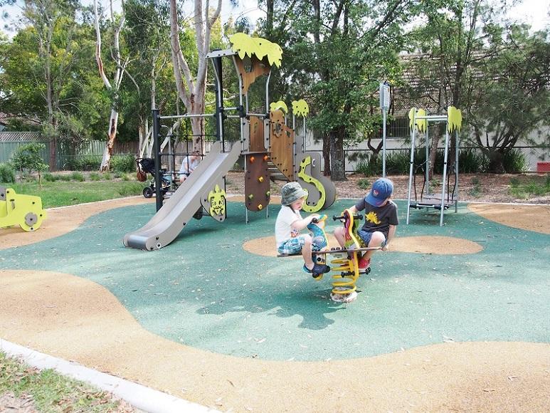 NSW – The Mall, Warrimoo Playground