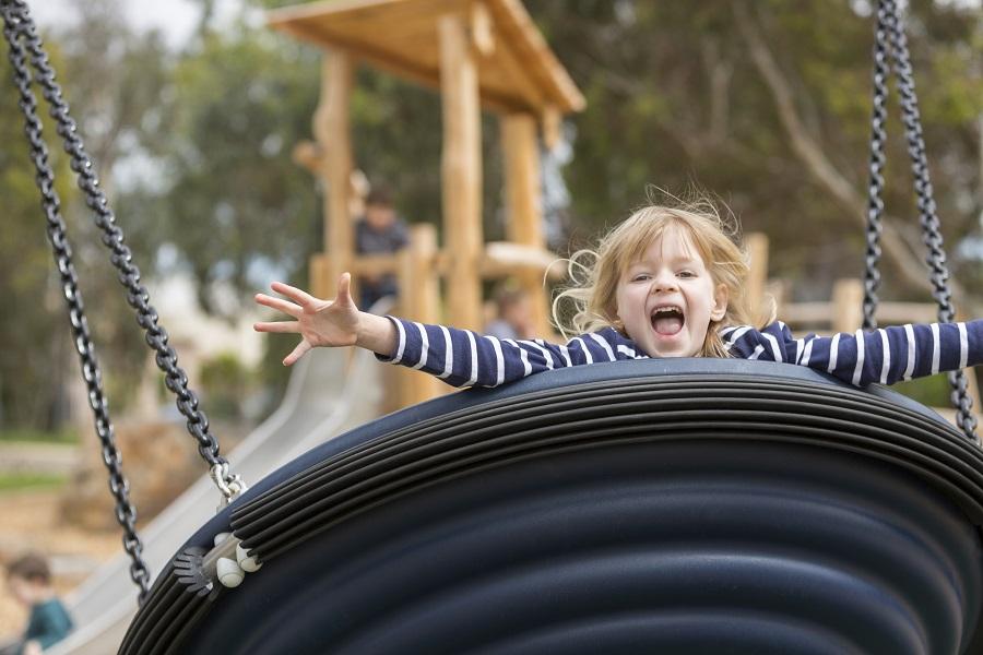 SA – Tidlangga Playspace and Pocket Orchard, North Adelaide
