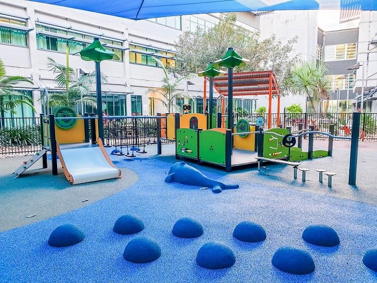 QLD – Townsville Hospital Paediatric Ward Playground