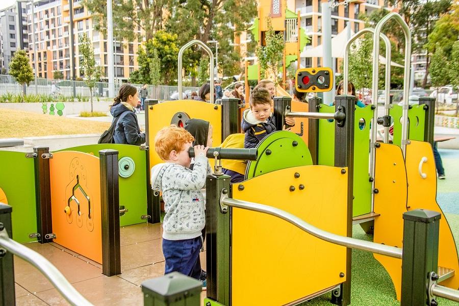 NSW – Waitara Park Inclusive Playspace