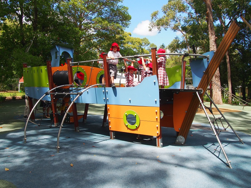 NSW – Warrawee Public School Playground