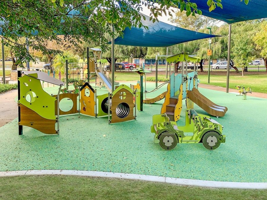 WA – Volcano Park toddlers' playspace