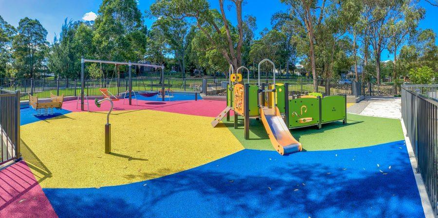NSW – Bernie Goodwin Memorial Park Playground